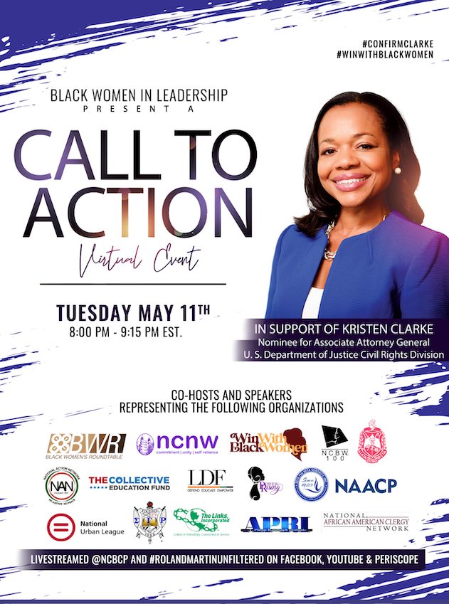 Black Women in Leadership Present a Call to Action Virtual Event