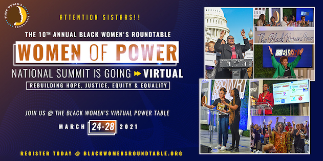 JOIN US AT THE BLACK WOMEN'S POWER TABLE!