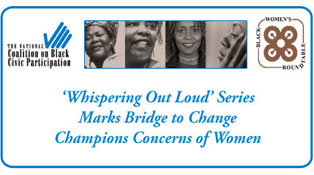 NCBCP Black Women's Roundtable Whispering Out Loud Series