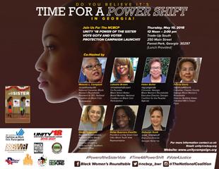 Coalition of Black Women Leaders Partner To Galvanize Over 100,000 Black Women to Vote In Georgia