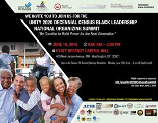 Black Leaders Push for Fair 2020 Census Count<br /><br />