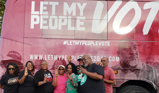 NCBCP PRESIDENT/CEO MELANIE CAMPBELL RETURNS TO HOMETOWN TO JOIN FRRC #LETMYPEOPLEVOTE GOTV BUS TOUR IN HISTORIC BREVARD COUNTY FLORIDA