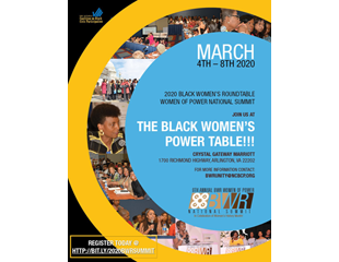 JOIN US AT THE<br />BLACK WOMEN'S POWER TABLE!